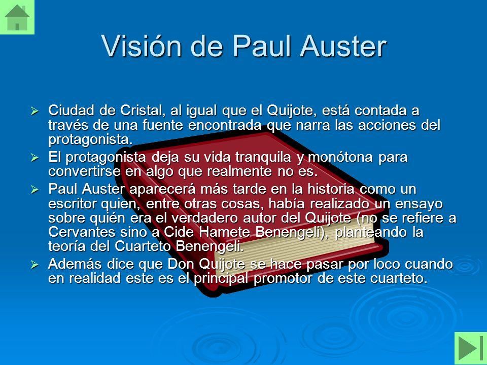 Visión de Paul Auster