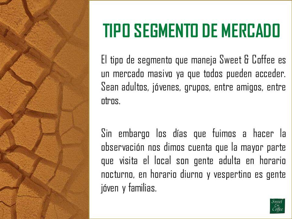 TIPO SEGMENTO DE MERCADO