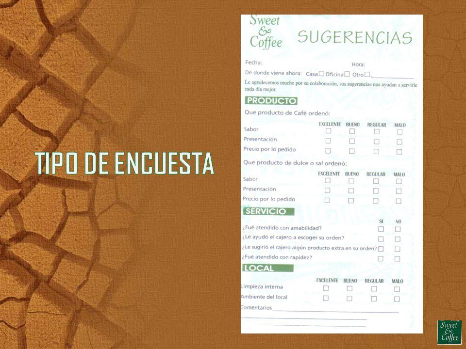 TIPO DE ENCUESTA