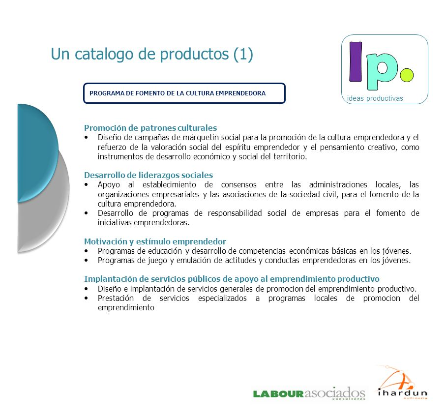 Un catalogo de productos (1)