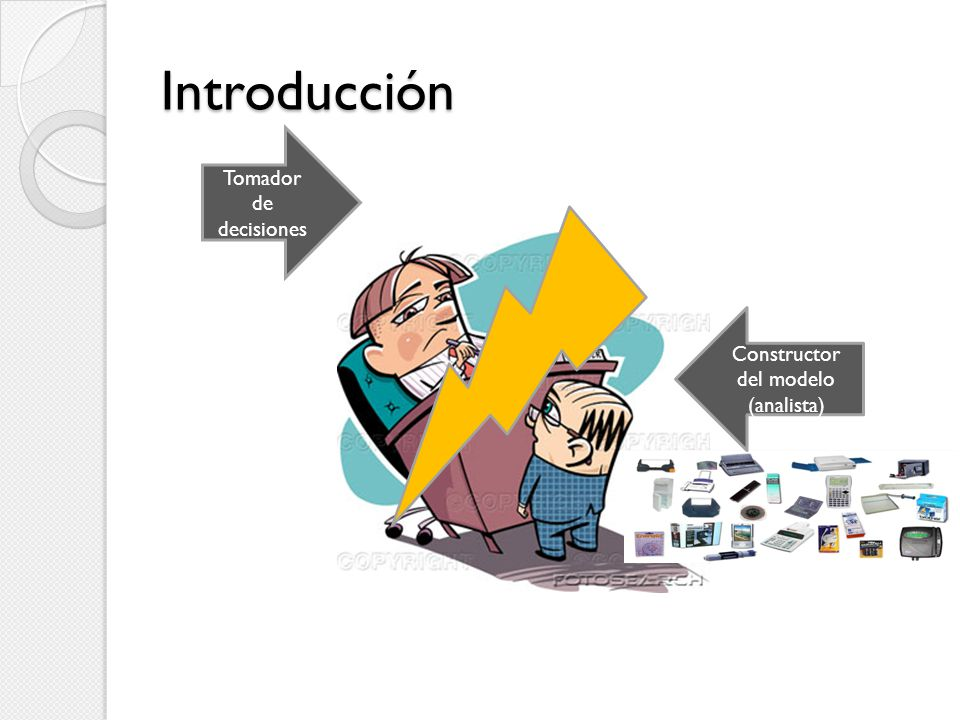 Constructor del modelo (analista)