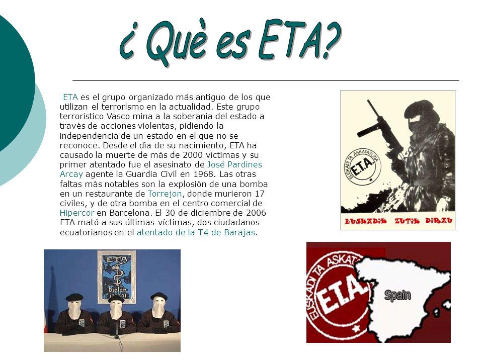 ¿ Què es ETA