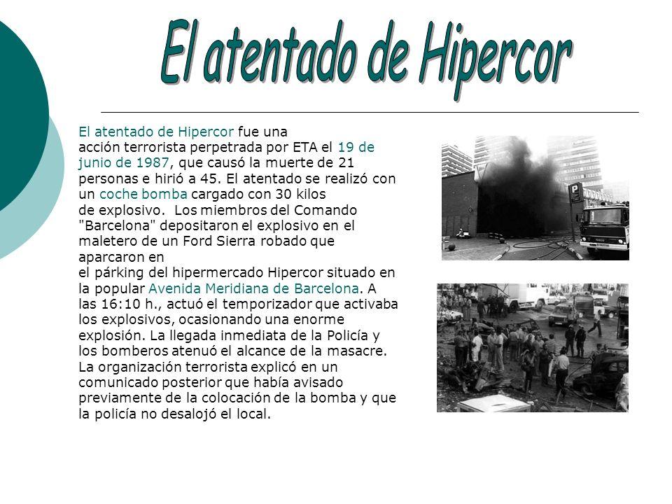 El atentado de Hipercor