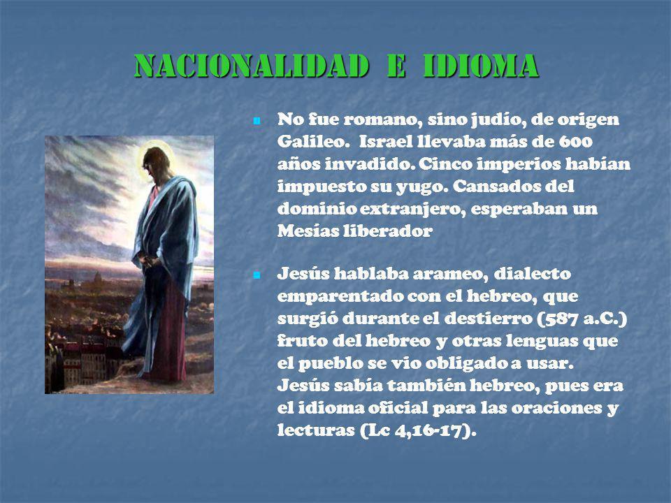 NACIONALIDAD E IDIOMA