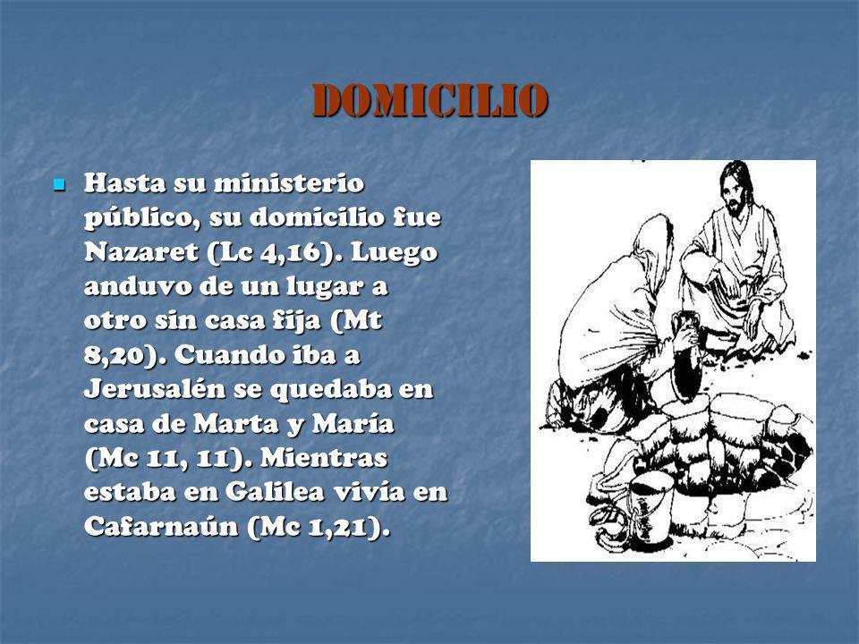 DOMICILIO