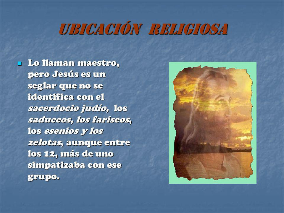 UBICACIÓN RELIGIOSA