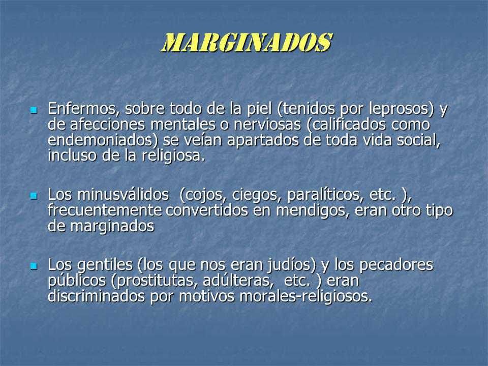 MARGINADOS