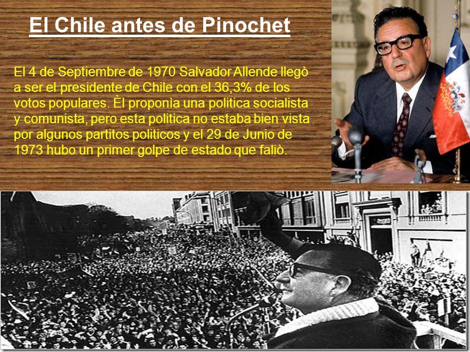 El Chile antes de Pinochet