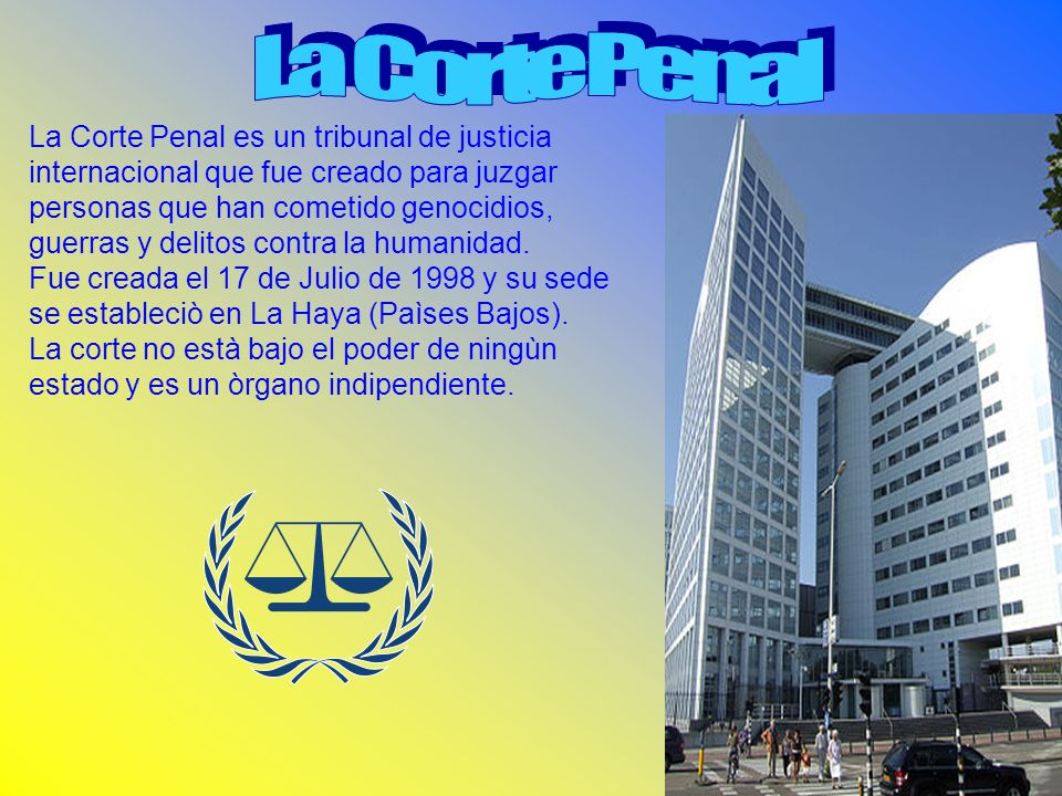 La Corte Penal