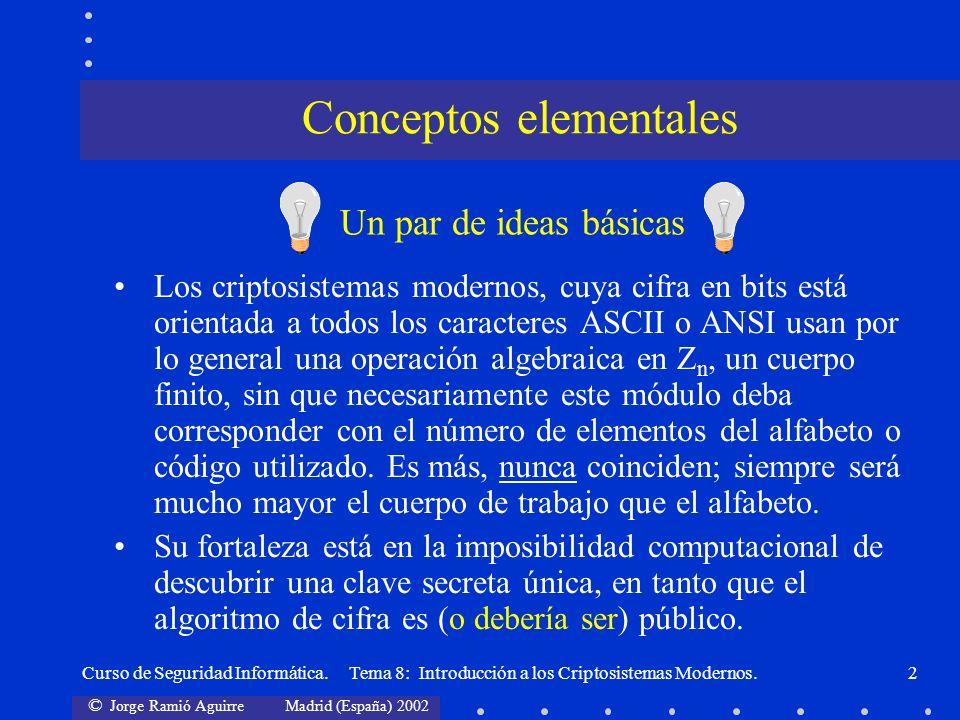 Conceptos elementales