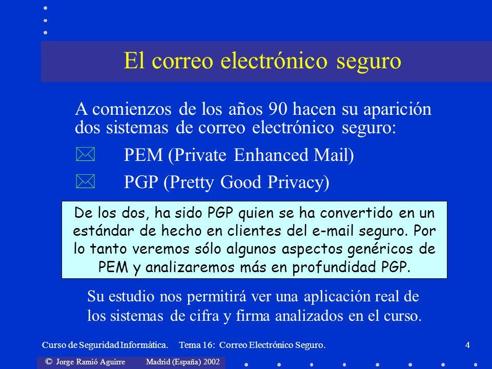 El correo electrónico seguro