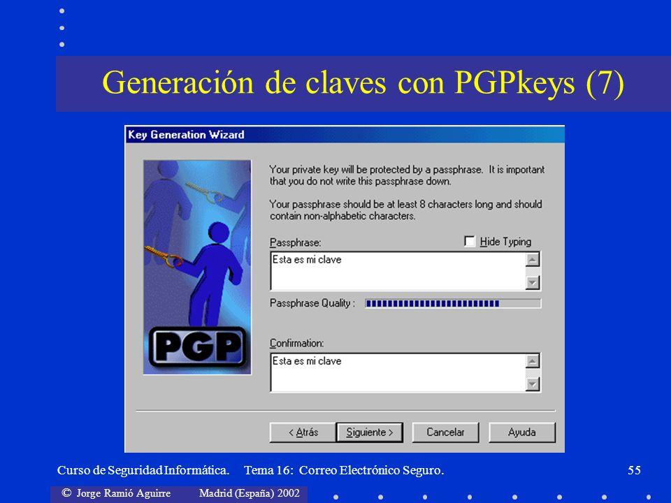 Generación de claves con PGPkeys (7)