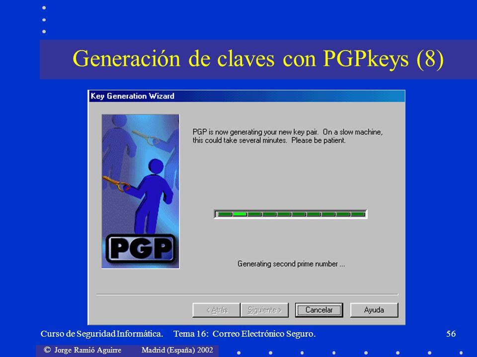 Generación de claves con PGPkeys (8)