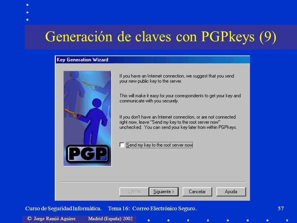Generación de claves con PGPkeys (9)