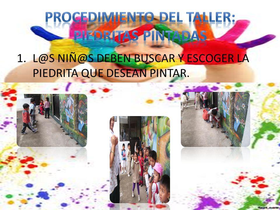 PROCEDIMIENTO DEL TALLER: