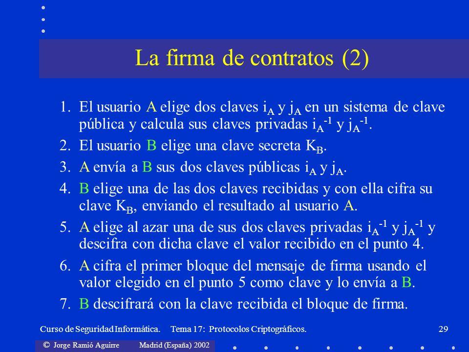 La firma de contratos (2)