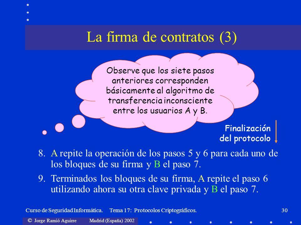 La firma de contratos (3)
