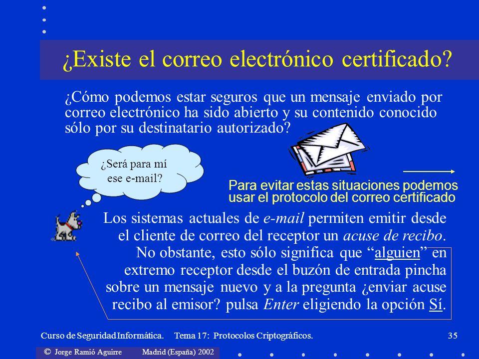 ¿Existe el correo electrónico certificado