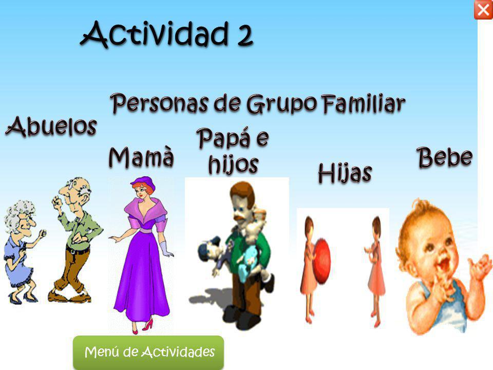 Personas de Grupo Familiar