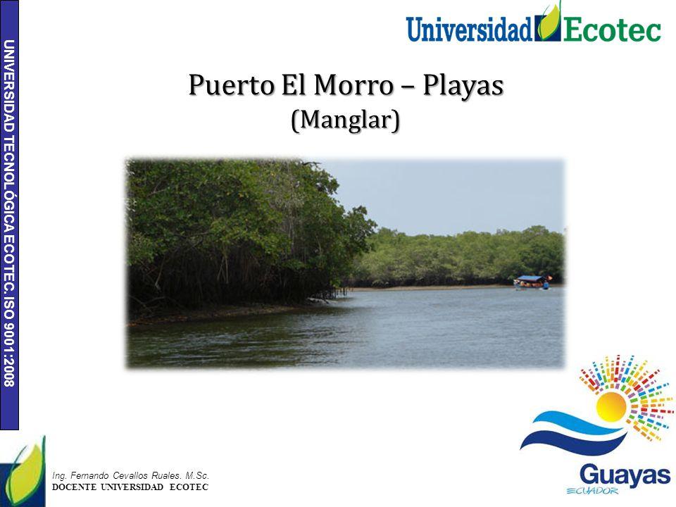 Puerto El Morro – Playas