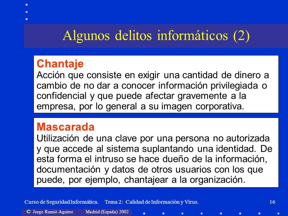 Algunos delitos informáticos (2)