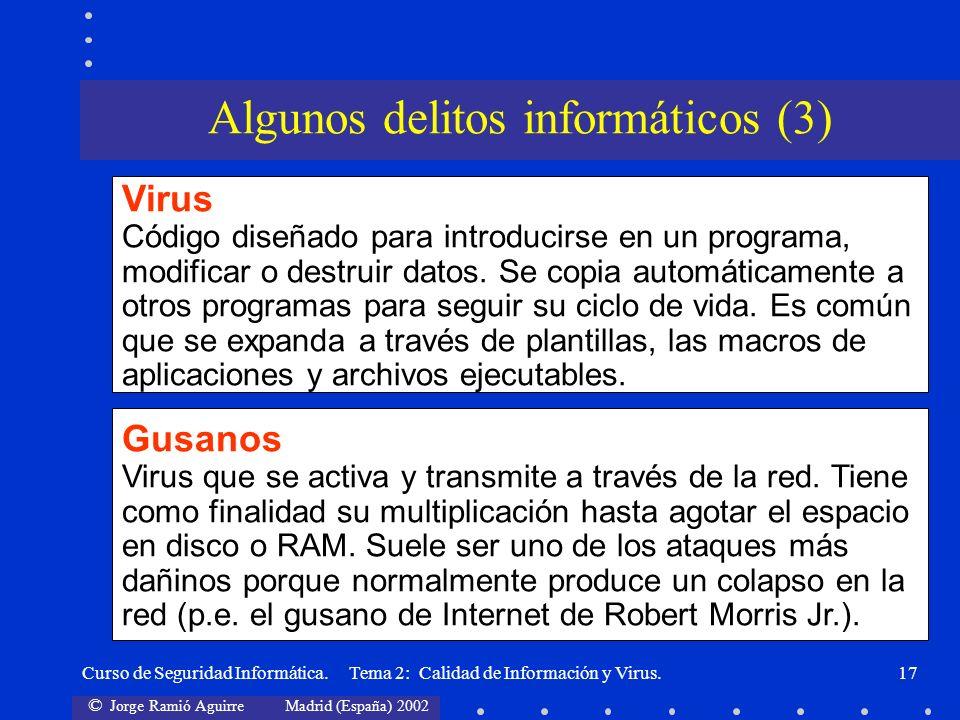 Algunos delitos informáticos (3)