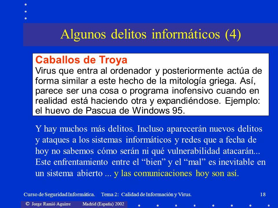 Algunos delitos informáticos (4)