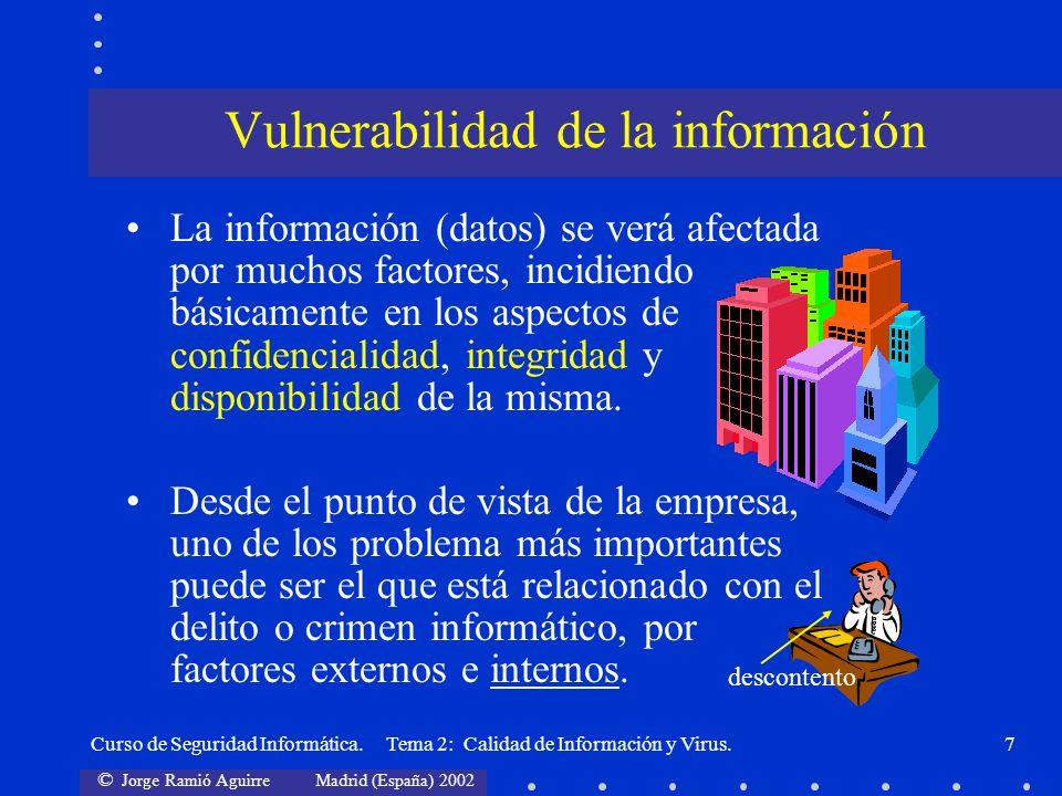 Vulnerabilidad de la información