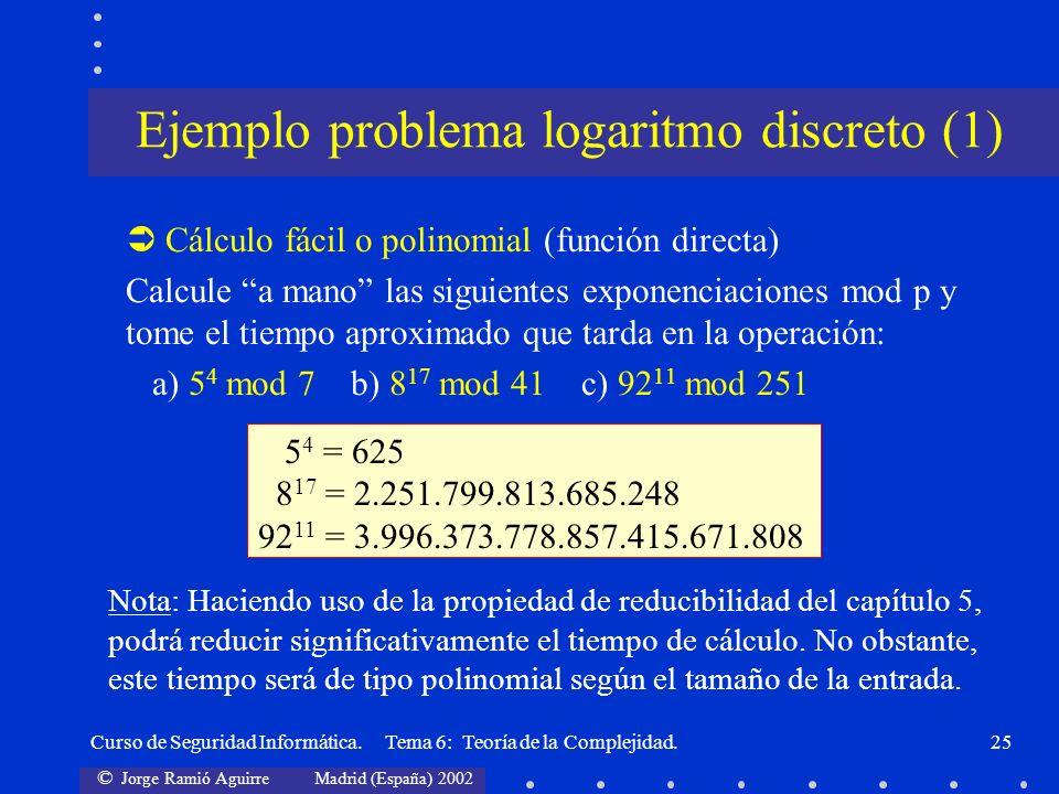Ejemplo problema logaritmo discreto (1)