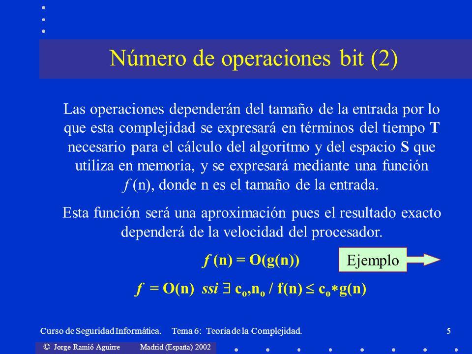 Número de operaciones bit (2)