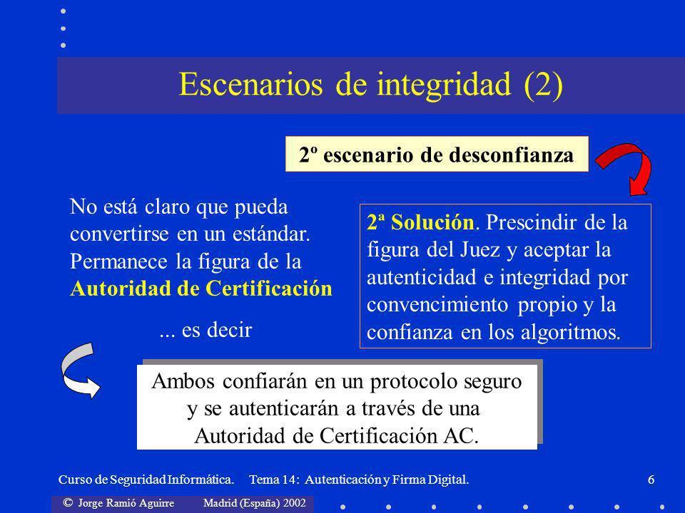 Escenarios de integridad (2)