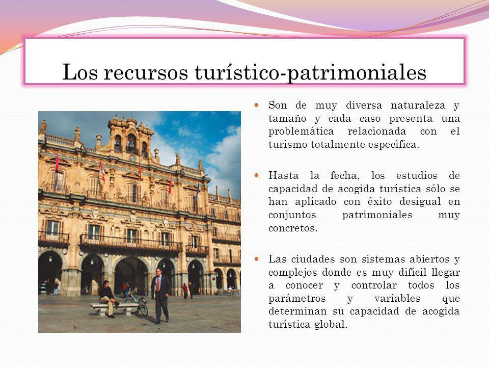 Los recursos turístico-patrimoniales