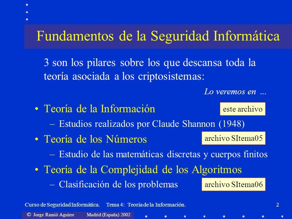 Fundamentos de la Seguridad Informática