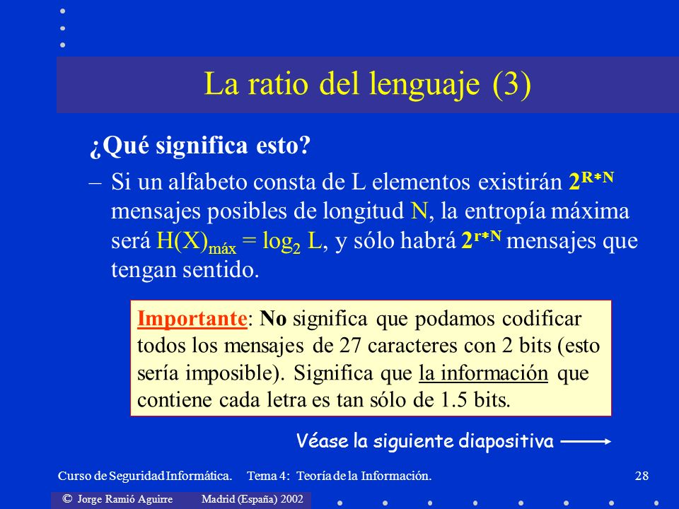 La ratio del lenguaje (3)