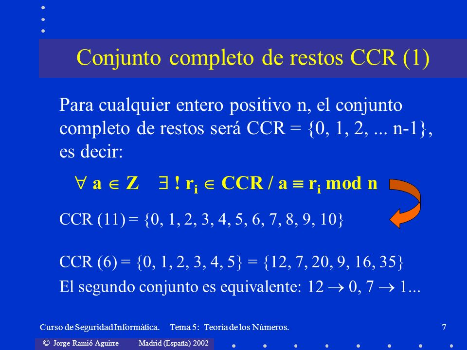 Conjunto completo de restos CCR (1)