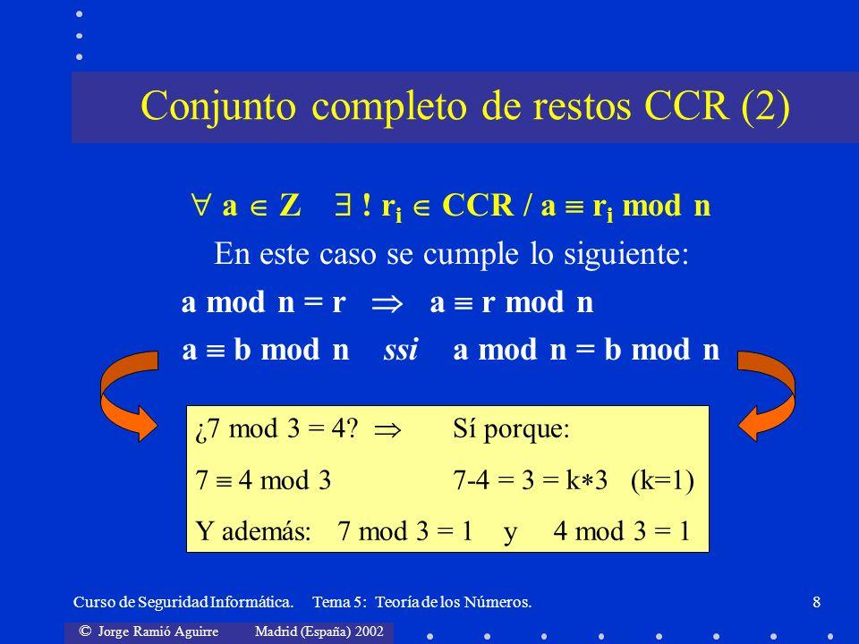 Conjunto completo de restos CCR (2)