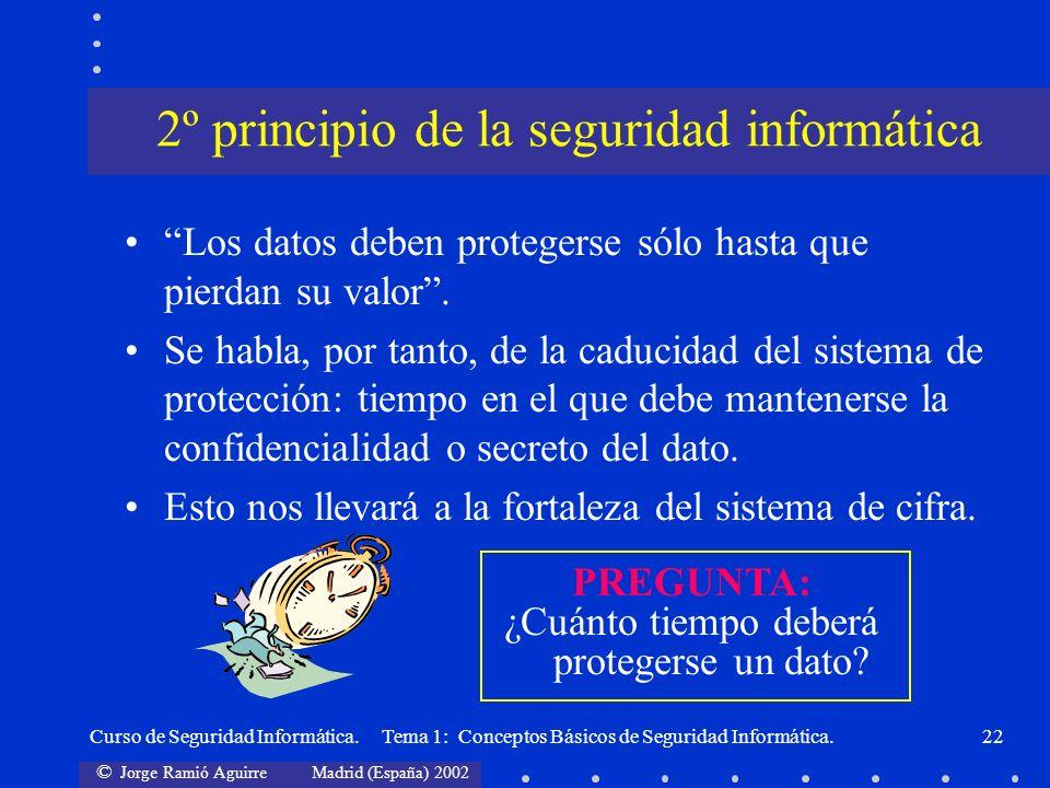 2º principio de la seguridad informática
