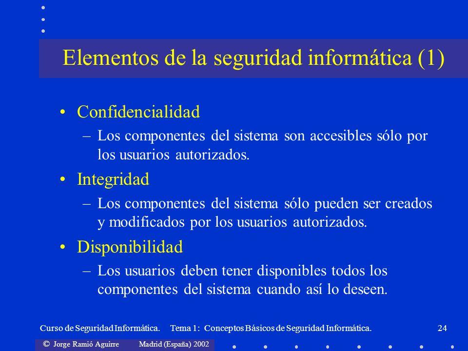 Elementos de la seguridad informática (1)