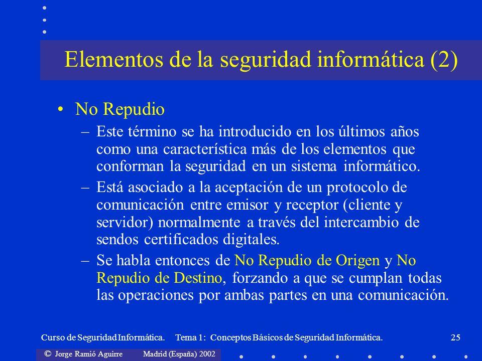 Elementos de la seguridad informática (2)