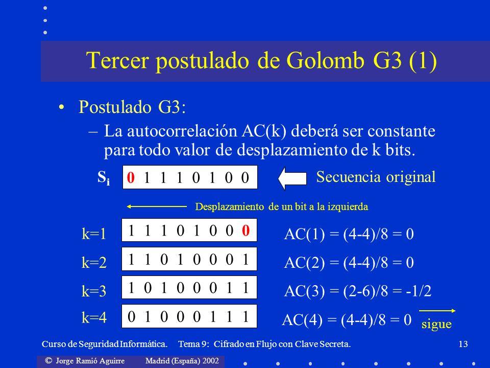 Tercer postulado de Golomb G3 (1)