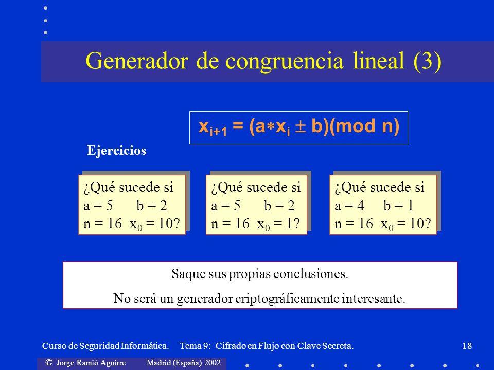 Generador de congruencia lineal (3)