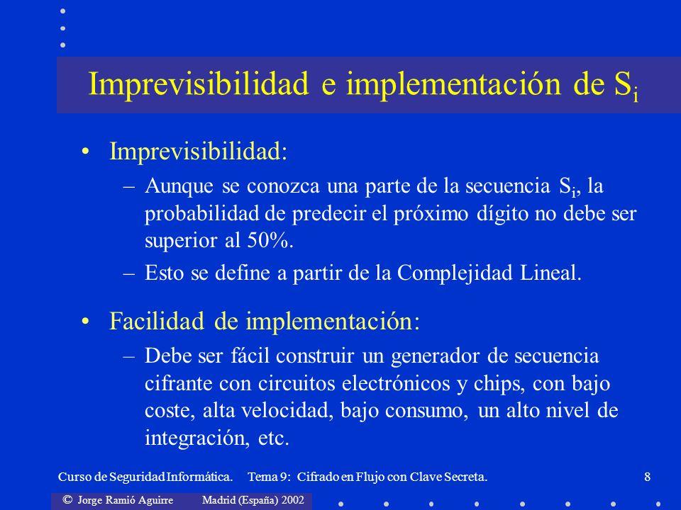 Imprevisibilidad e implementación de Si