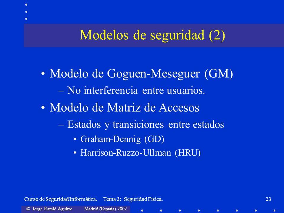 Modelos de seguridad (2)