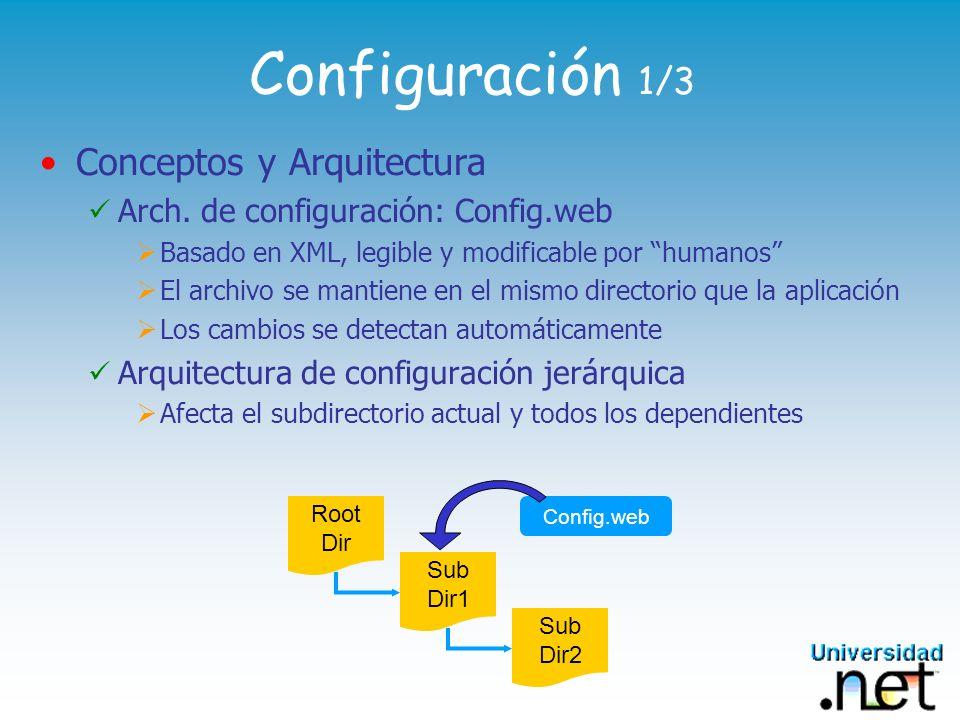 Configuración 1/3 Conceptos y Arquitectura
