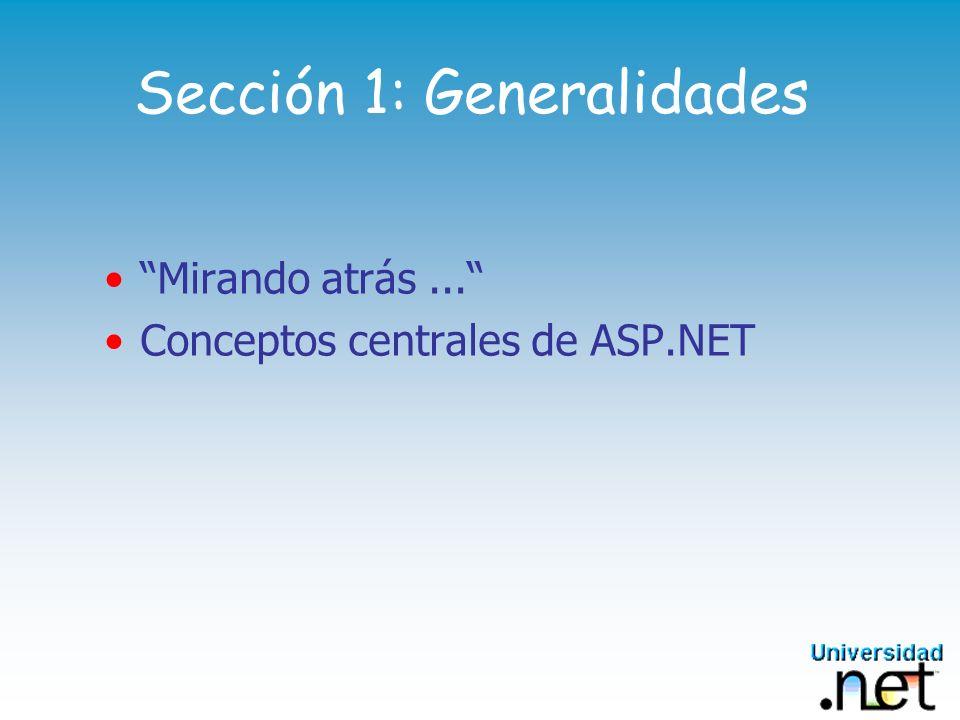 Sección 1: Generalidades