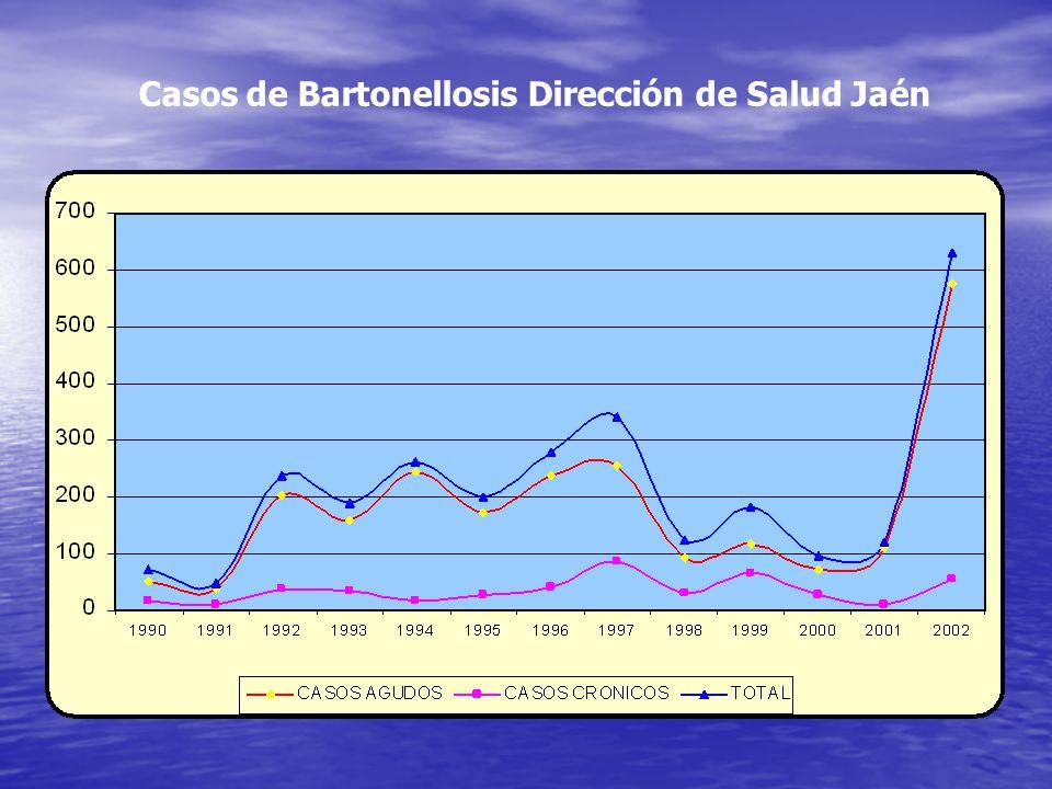 Casos de Bartonellosis Dirección de Salud Jaén