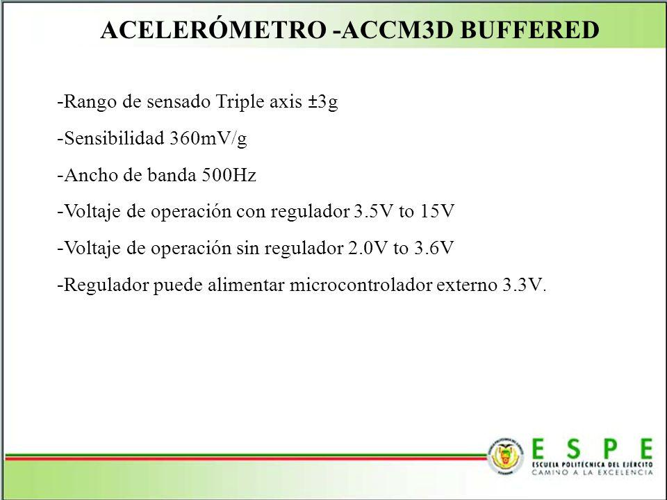 ACELERÓMETRO -ACCM3D BUFFERED