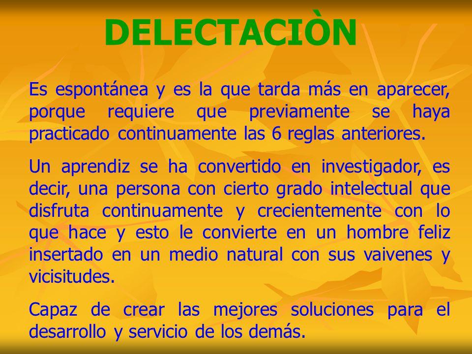 DELECTACIÒN