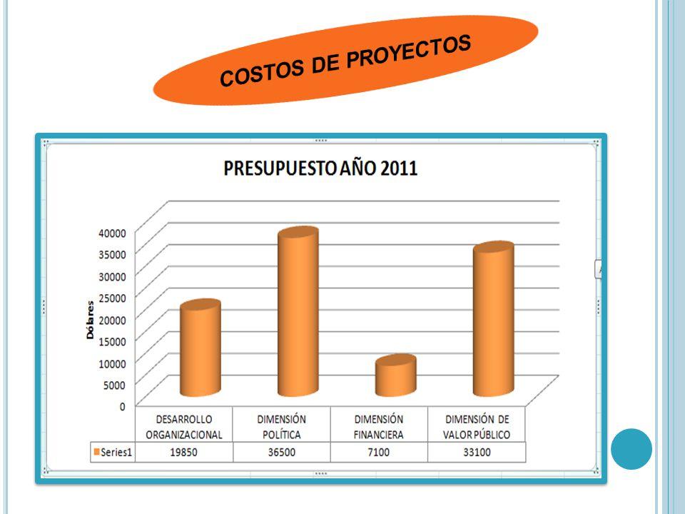 COSTOS DE PROYECTOS