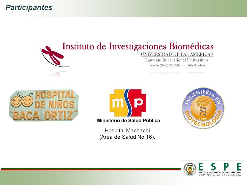 Hospital Machachi (Área de Salud No.16).